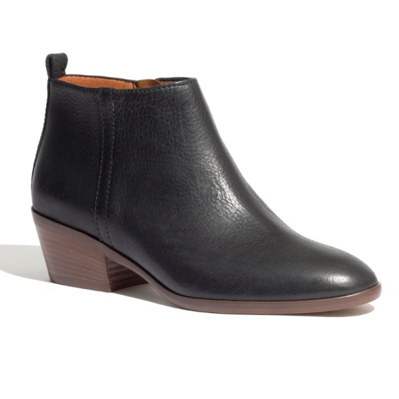 Madewell Shoes | Charley Black Ankle